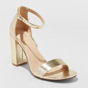 6cc42b37d5 a new day Shoes | Michaela Clear Acrylic Mid Block Heel Pump6676 ...